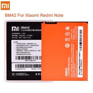 Image 2 - Original Battery BM42 BM45 BM46 BN41 BN43 For Xiaomi Redmi Note 2 3 4 4X Hongmi Note2 Note3 Note4 Li ion Replacement Batteries