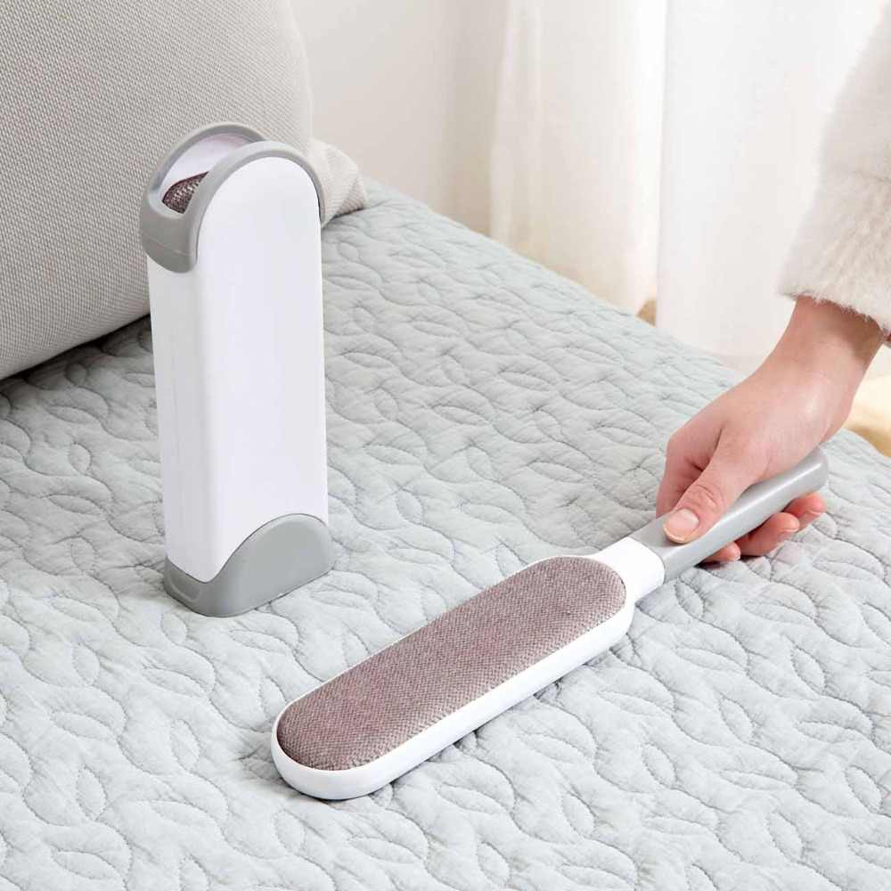 Lint Roller Brush Magic Cloth Fur Cleaning Brushes Hair Lint Remover Device Dust Brush Electrostatic Dust Cleaners