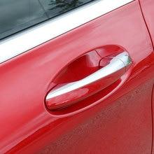 Car Door Handle Cover Trim  For Mercedes Benz C Class W205 2015 2016 GLC Class Car Styling Accessories