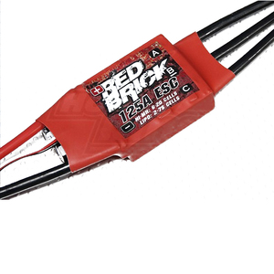 Image 3 - Электронный регулятор скорости ESC, Бесщеточный Регулятор скорости 5 В/3 а/5 В/5 А BEC для FPV мультикоптера, красный кирпич, 50 а/70 А/80 а/100 А/125A/200 А, 1 шт.