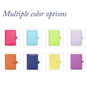 Image 5 - Hot Sale Dokibook Notebook Candy Color Cover A5 A6 Loose Leaf Time Planner Organizer  Series Personal Diary Daily Memos