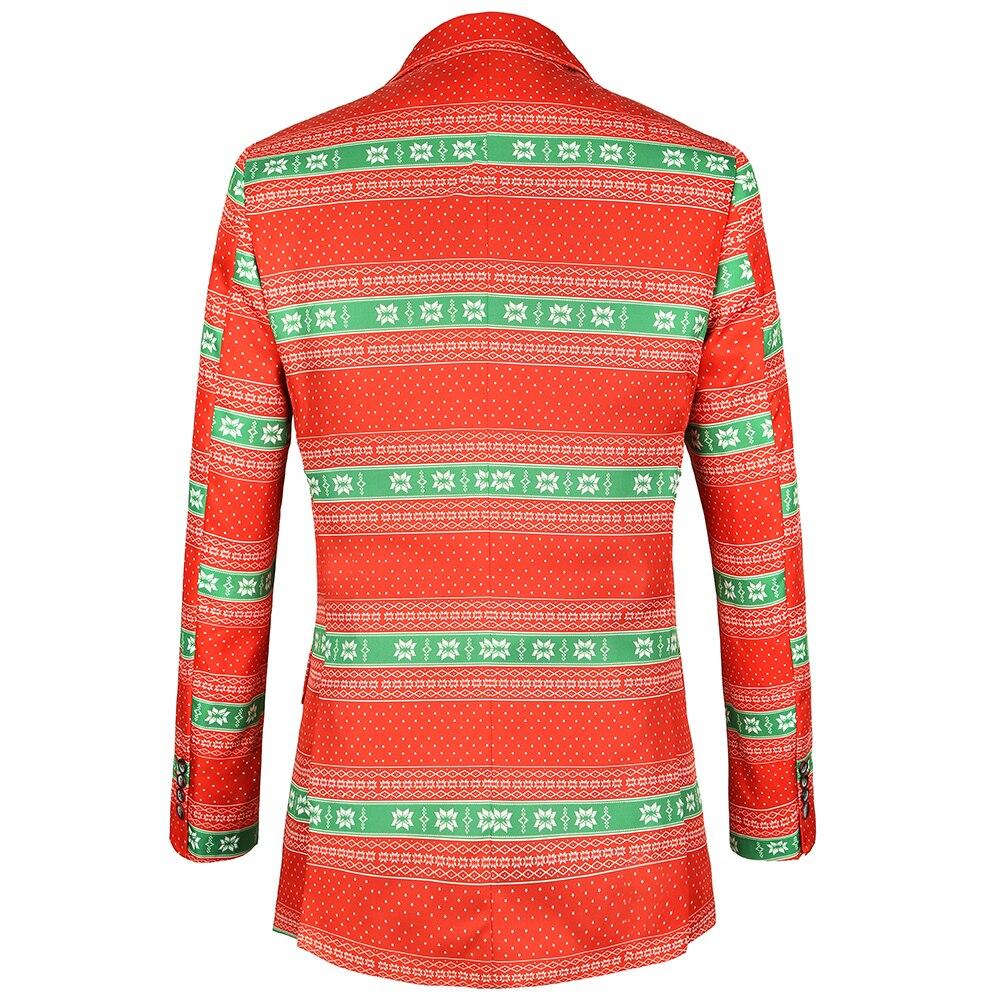 diecaprle festival men clothes christmas suit jacket 2 designs - Christmas Suits For Mens