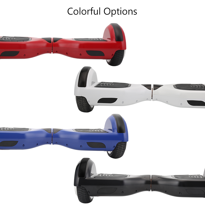 4 colores Hoverboard auto equilibrio eléctrico Hoverboard monociclo por la borda Gyroscooter Oxboard Skateboard dos ruedas Hoverboard - 3