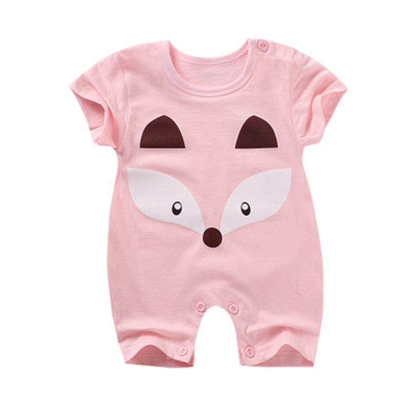 Lato Baby Rompers Cotton Baby Girl Ubrania Moda Baby Boy Odzież 2018 - Odzież dla niemowląt - Zdjęcie 2