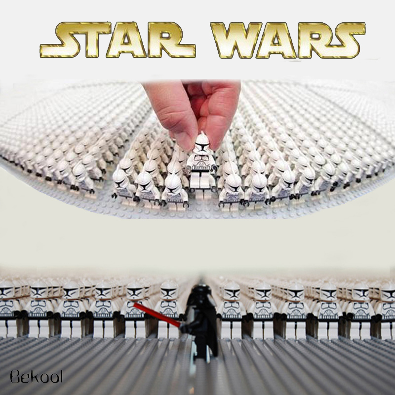 NEW Bland 200pcs lot Star Wars mini toy White Rebel Clone trooper Solider SW201 Tropper compatible