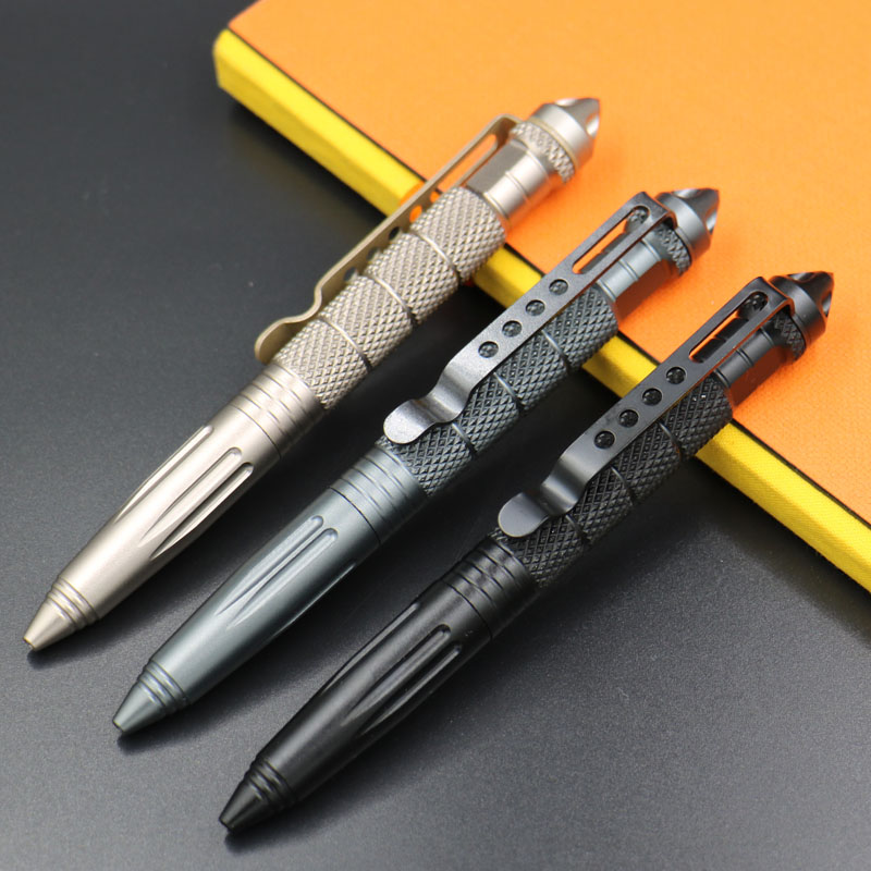 Full Tungsten Steel Rotary Gel Pen Personalized Gift Writing Pen