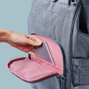 Image 5 - Sunveno New Diaper Bag Zaino di Grande Capienza Del Sacchetto Del Pannolino Impermeabile Kit Mummia Maternità Zaino Da Viaggio Borsa di Cura