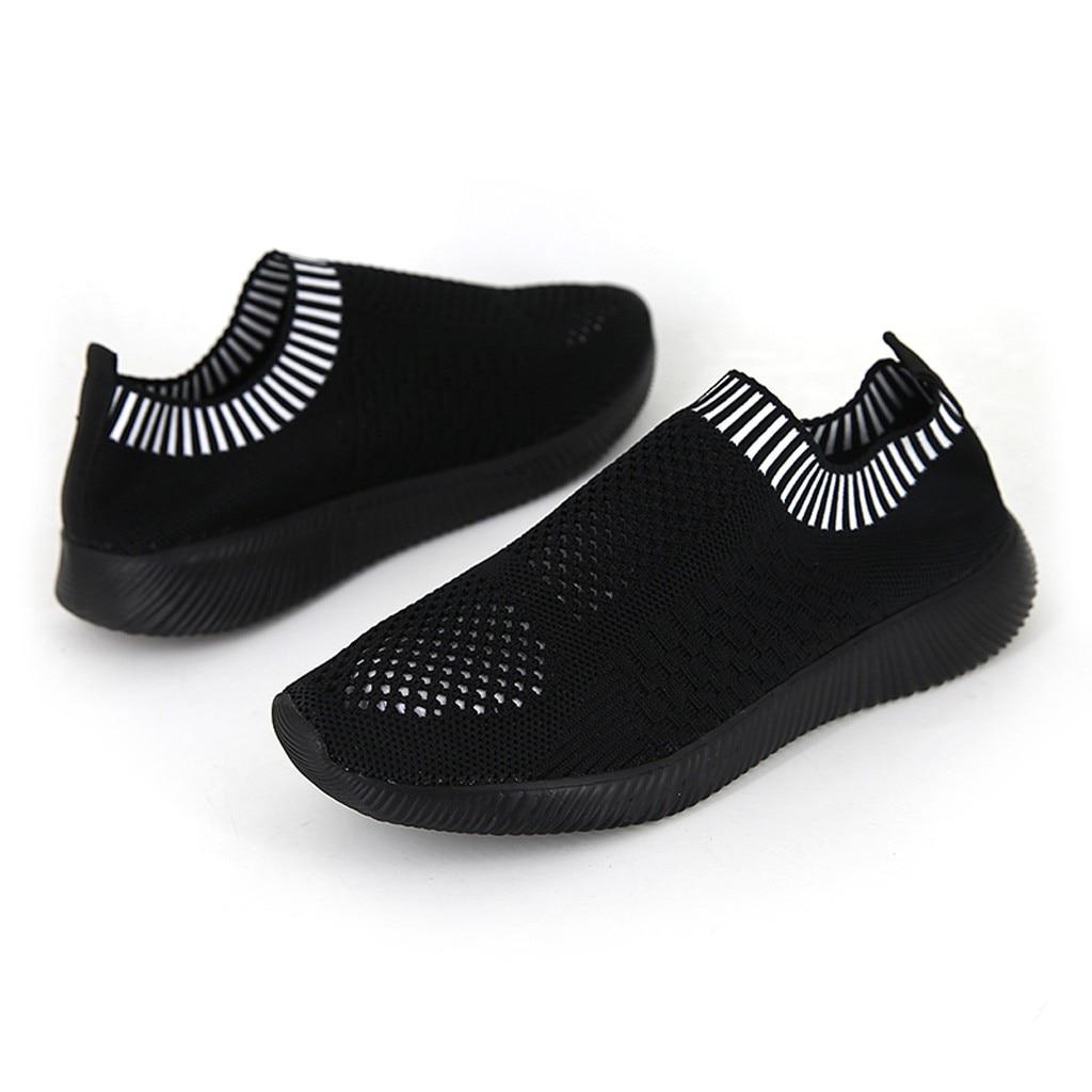 US $6.88 49% OFF Flying Weaving basket femme sneakers women 2019 Socks Student Running black designer shoes women luxury buty damskie#G9 in Women's