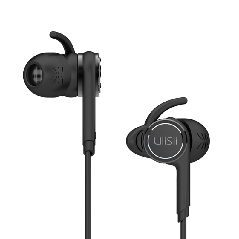 100% Original UiiSii BA-T7 2DD+BA 6 Drivers Earphone In-ear HIFI 3.5MM Wired Headset with Mic Sport DJ stereo For iphone/Xiaomi original senfer dt2 ie800 dynamic with 2ba hybrid drive in ear earphone ceramic hifi earphone earbuds with mmcx interface