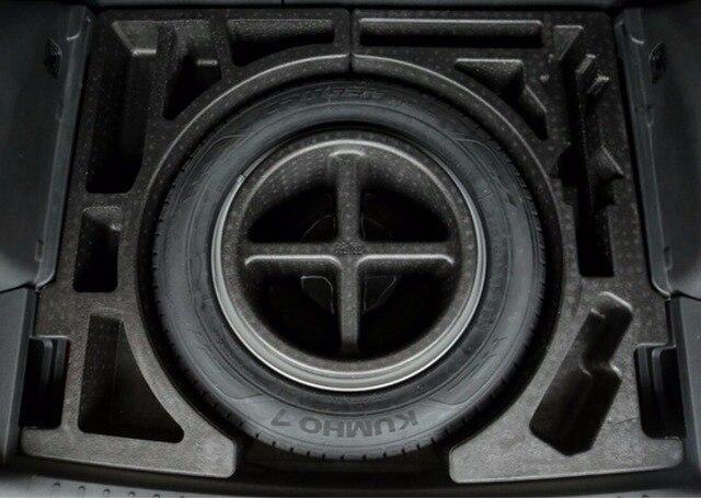 Posterior Del Tronco Compartimento Contenedor De Almacenamiento Debajo de la Llanta de Repuesto Kit Para Hyundai Tucson 2016 2017