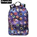 Deanfun Women  Backpack Emoji Emoticon Shoulder School Book Bag Rucksack
