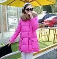Nuevo 2016 mujeres del invierno abajo chaqueta chaqueta de maternidad embarazo ropa de abrigo ropa de abrigo de invierno parkas