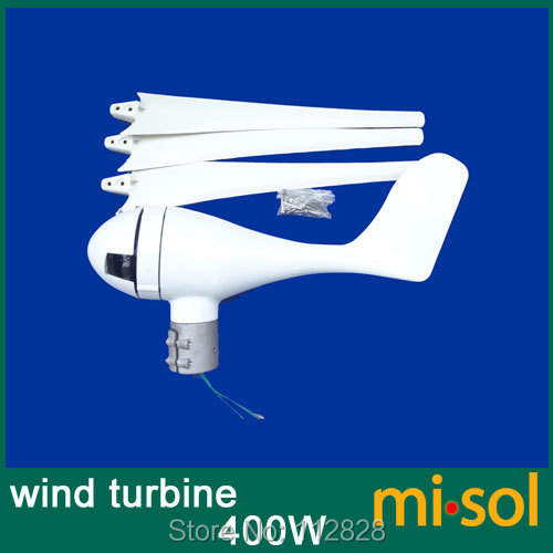 Kit de générateur de vent d'éolienne 24 V 400 W