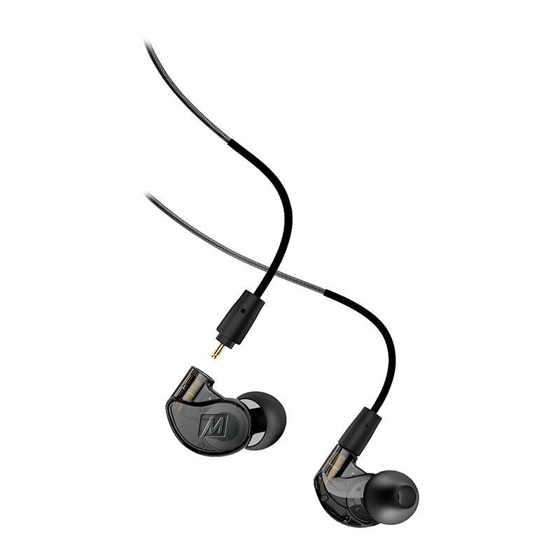 Véritable sport filaire écouteurs Bruit Annulation 3.5mm HiFi In-Ear Moniteur casque M6 PRO 2nd avec Détachable Câbles bateau libre
