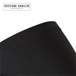 Image 4 - Cristiano Ronaldo short Boxer en coton, sous vêtements pour hommes, 3 pièces/lot, caleçons Sexy de marque