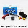 Для Hyundai Creta 2014 ~ 2016/RCA Проводной Или Беспроводной/HD Широкий Угол объектива Камера Заднего вида/Доказательство Воды CCD Камера Ночного Видения