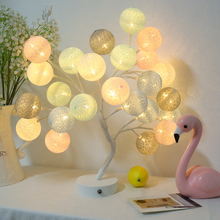 Creative Colored orb Decorative Tree table lamps for living room Led Bed lamp bedside light table light lamps Tafellamp bedroom table lamps bedroom bedside led children cute cartoon creative lamp personalized decorative lamp nightlight