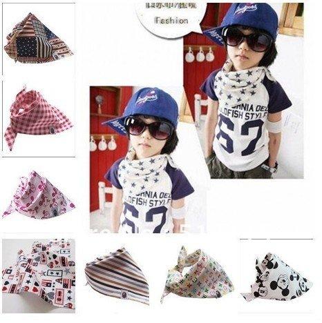 The triangle towel headscarves wholesale  100pcs/a lot