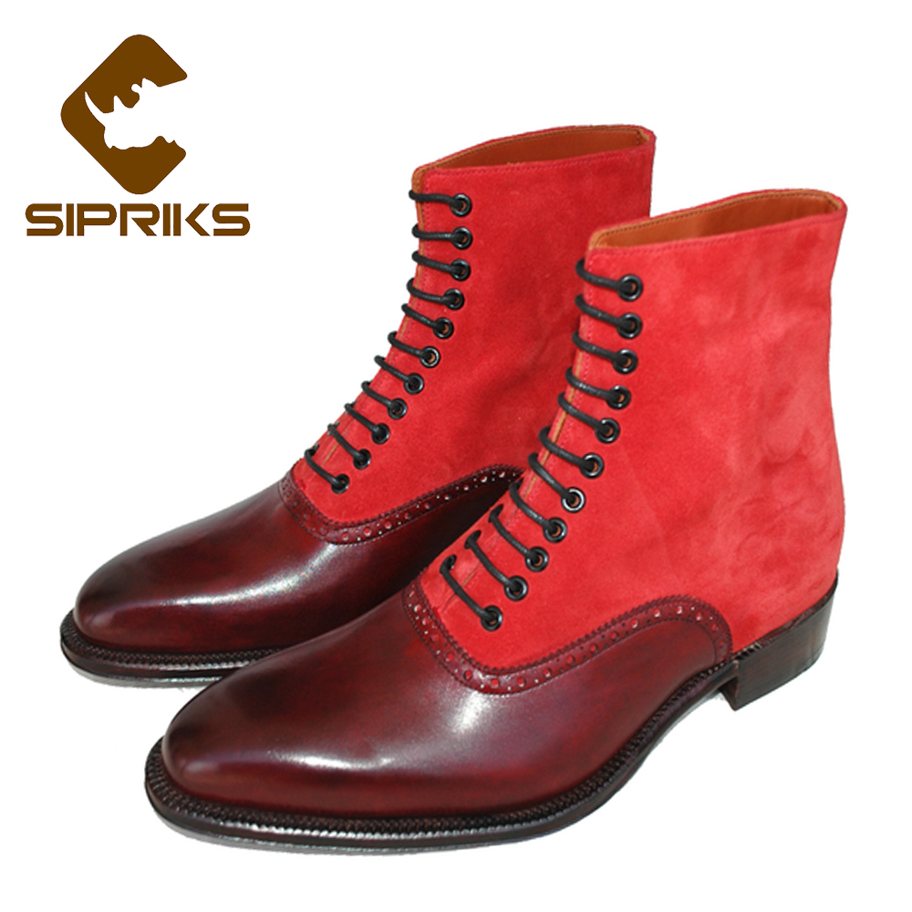 Compare Prices on Red Leather Boots for Men- Online Shopping/Buy ...