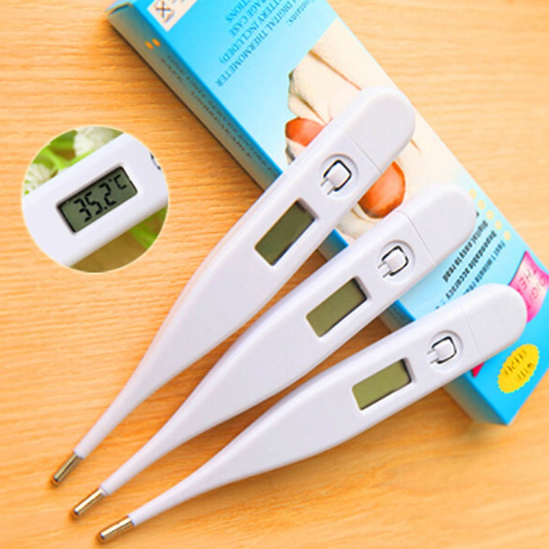 New Body Child Digital Thermometer Waterproof  Adult LCD Thermometer Baby Temperature Digital Measurement