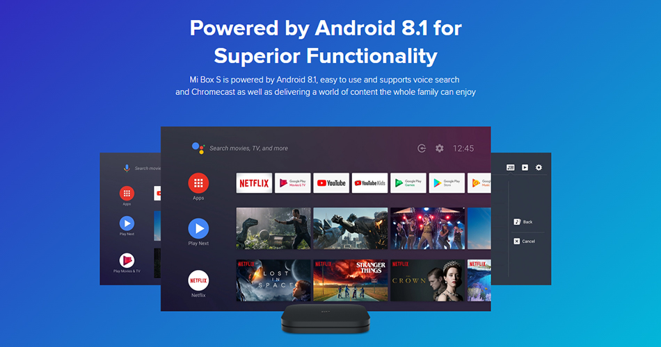 Xiaomi 4K-HDR Android-Smart-TV-Box-S Media-Player