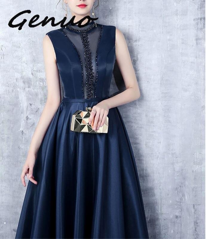 Genuo New 2019 Sexy Bra Off Shoulder Backless Dresses Female Tassel Glitter Maxi Elegant Party Dress Vestdios in Dresses from Women 39 s Clothing