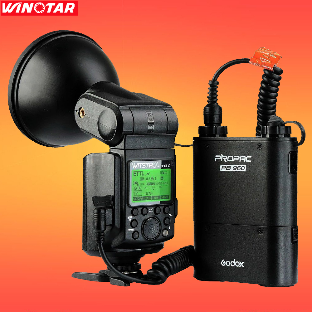 Godox AD360 AD360II-C Flash Light Speedlite WITSTRO with PB960 Battery Pack for Canon цепочка john richmond цепочка
