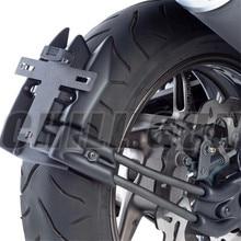 Motorrad LED Licht Lizenz Platte Rack Kotflügel Hinten Fender Eliminator Platte Für Yamaha TMAX T MAX 530 2012 2016 TMAX530 12 16