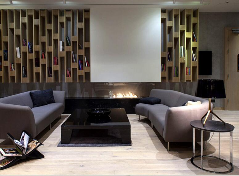 18 Inch Wifi Automatic Intelligent Smart Ethanol Fireplace Heater