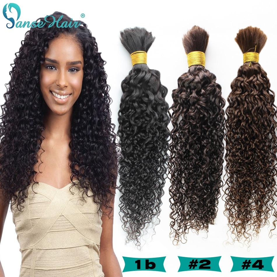 brazilian virgin hair kinky curly human hair for braiding ... - photo #18