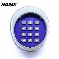 433 mhz Wireless Keypad password serratura elettrica di controllo di Accesso interruttore Con Il regolatore per il portello del cancello