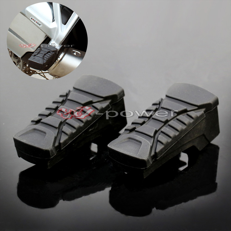 For BMW R1200GS LC 2014-2017 / R1200GS ADV 2014-2017 Motorcycle Passenger Footrest Foot Peg Footrest Rubber