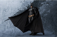 SHF Justice League The Dark Knight Batman Super Hero PVC Action Figure Collectible Model Kids Toys Doll 15cm