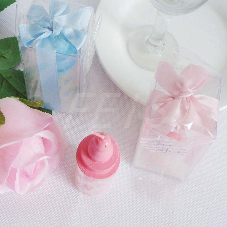 Baby Shower Votive Candles Birthday Favors Milk Bottle ...