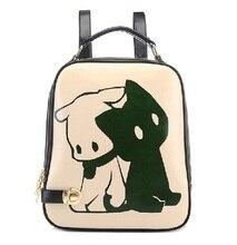 Мода печати девушки рюкзак, женщина печатных стиль сумка, мультфильм школьные сумки для девочек, школьные сумки для девочек-подростков