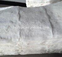 High quality Natural white rex rabbit fur skin