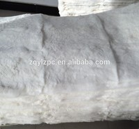 High quality Natural white rex rabbit fur skin