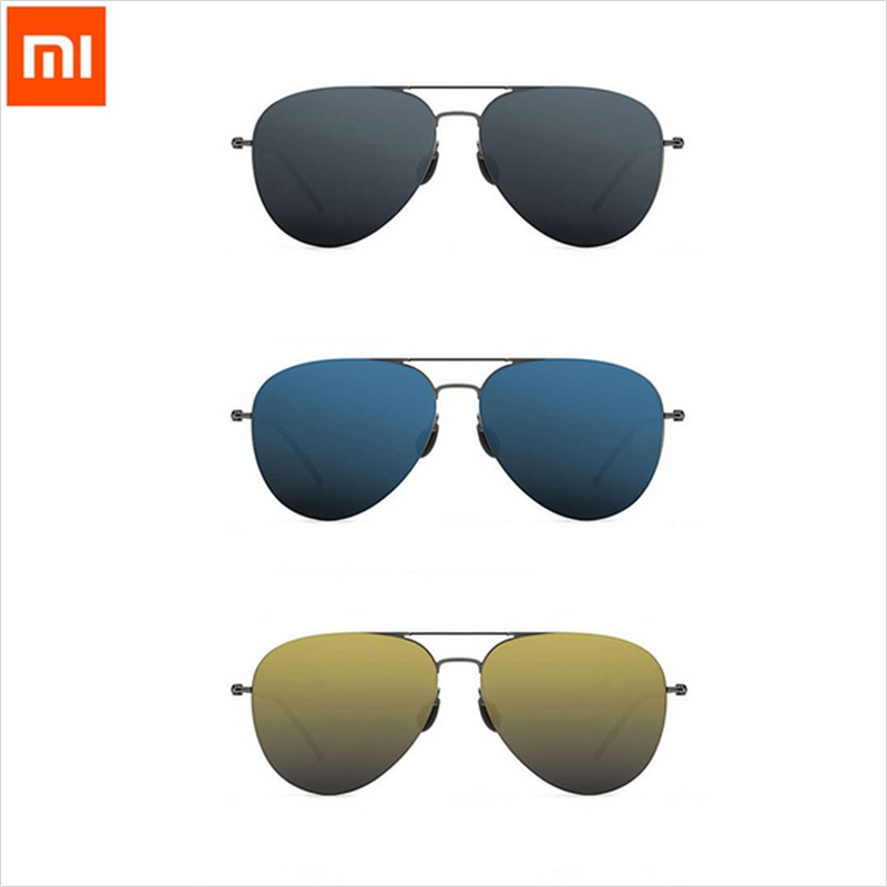 Xiaomi mi jia Turok Steinhardt TS Nylon Polarized Stainless Sunglasses 100% UV-Proof for Outdoor Travel Man Woman xiaomi glasses цена