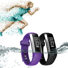 Лучшая цена! Новый крови Давление монитор сердечного ритма Смарт Браслет снарт часы для Android IOS Бесплатная доставка NOM15