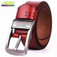 Famous Luxury Brand Belts Men High Quality Genuine Leather Belt For Male Jeans Waist Strap Designer