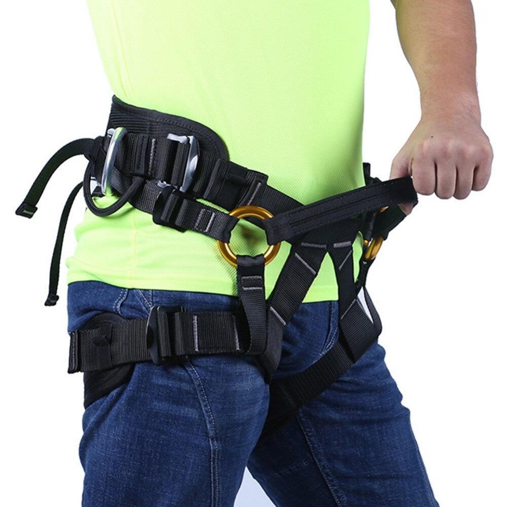 Équipement de plein air escalade harnais arbre coupe entraînement haute Altitude opération sûre ceinture de sécurité demi-corps harnais