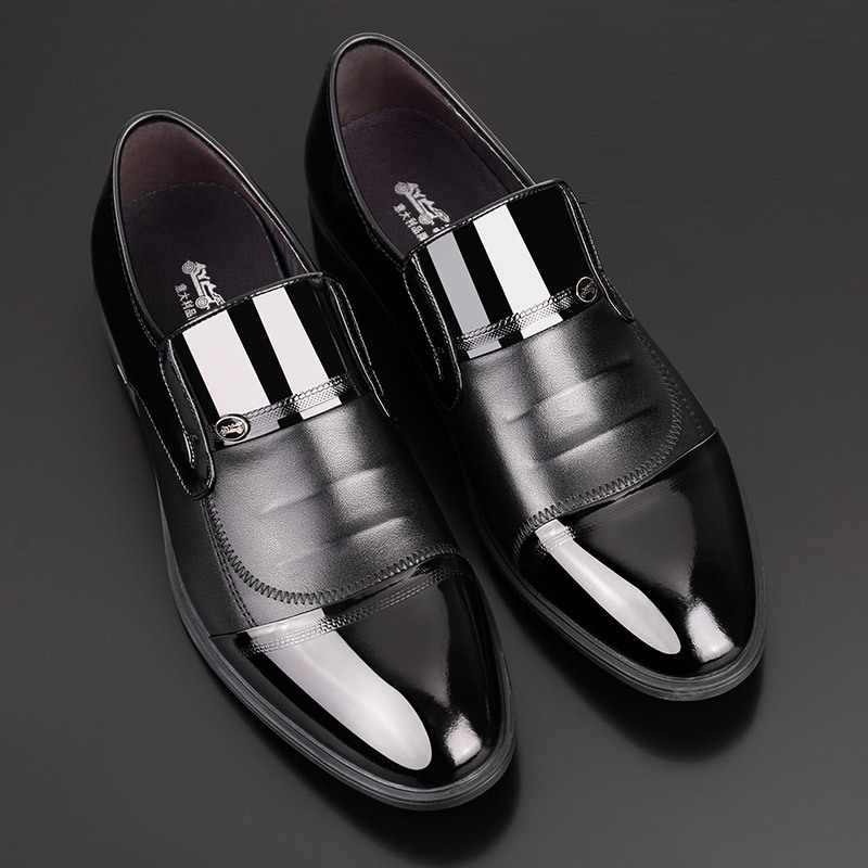 Noir Robe Sharp Britannique Cuir Chaussures D'affaires Laque De En Hommes Jeune t4YOvqxx