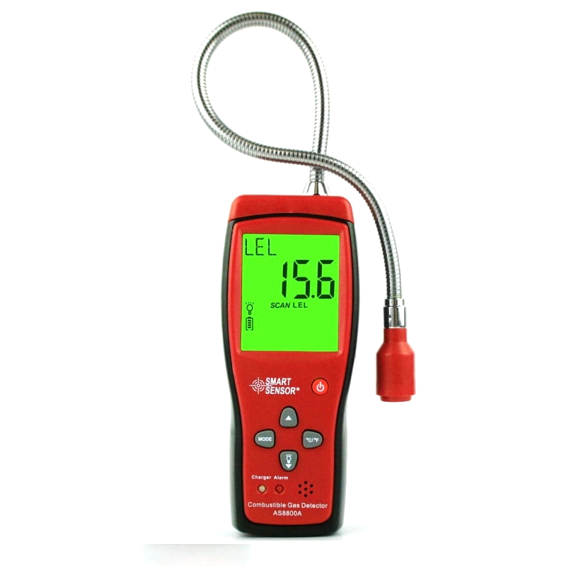 Smart Sensor As8800a Combustible Gas Leak Detector Natural