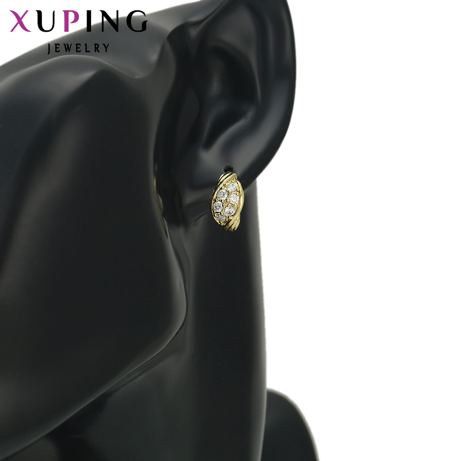 Xuping Fashion Earring Promosi Gaya Baru Perhiasan Anting Warna - Perhiasan fesyen - Foto 6