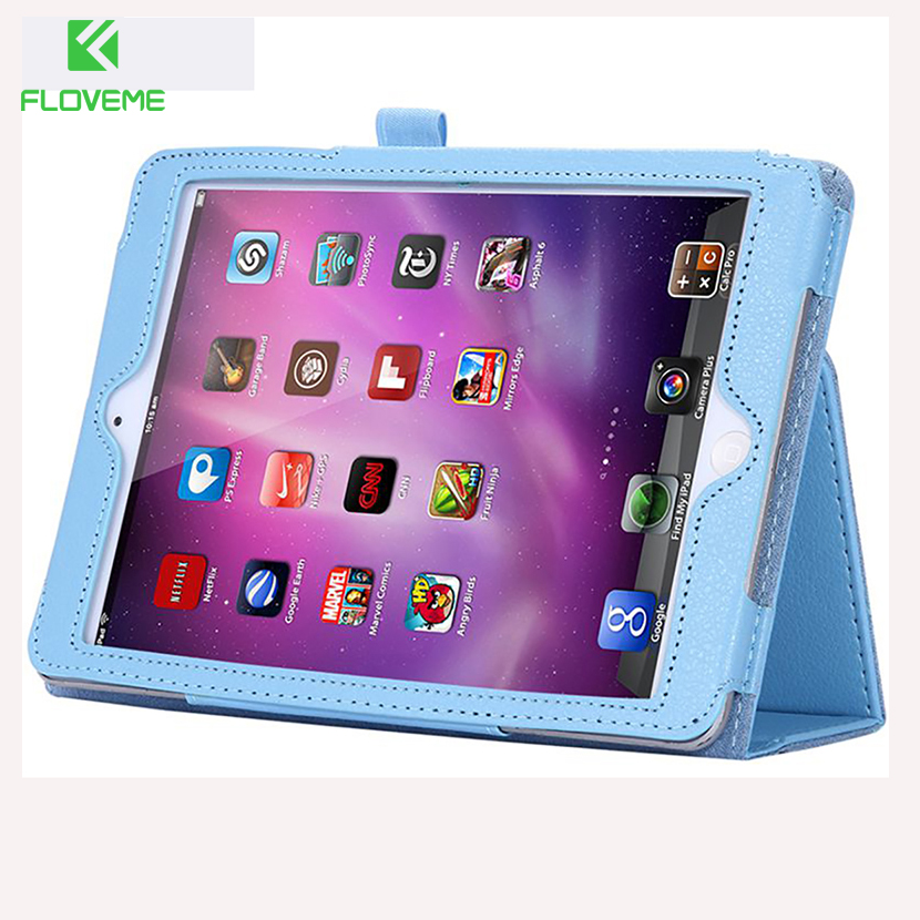 FLOVEME Luxury Leather Case for Apple ipad2 ipad3 4 Tablets Accessories Fashion Smart Elegant Stand Holder