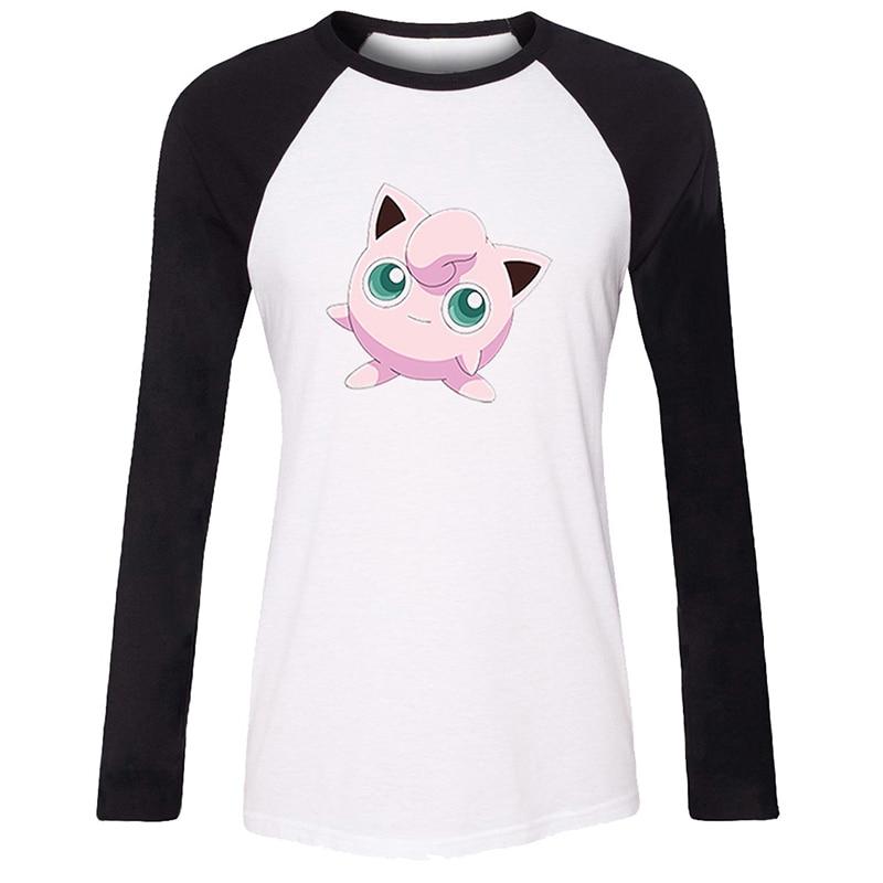 e1c88265 Cute Lilo & stitch Ohana family Linkin Park Pokemon Jigglypuff Womens Ladies  Printing T shirt Graphic