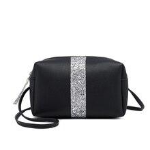 купить Crossbody Bags For Women 2019 Shoulder Bags Pillow Type Zipper Phone Case Ladies Purses And Handbag PU Leather Mini Shoulder Bag онлайн