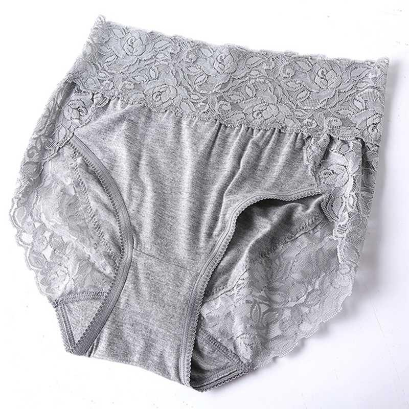 Baru Kedatangan Ropa Interior Femenina Renda Sexy Lingeries Celana Wanita Pakaian Plus Ukuran 7XL High Waist Wanita Celana Dalam