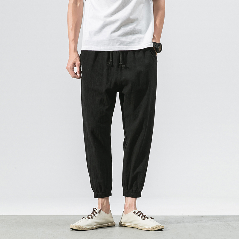 sweatpants Pants streetwear Summer Thin Nine Part Man Japanese Haren Personality City Boy Trend Exquisite hip hop camouflage
