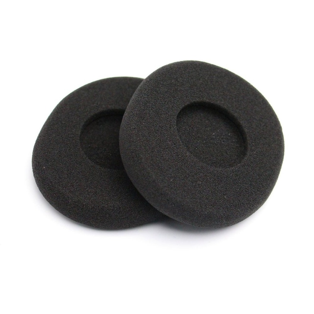 A Pair Of Ear Pads Soft Foam Noise Isolating Replacement Earbud Covers Headphones Cushions For H800